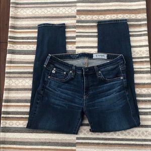 AG Stilt/Cigarette Crop Jeans